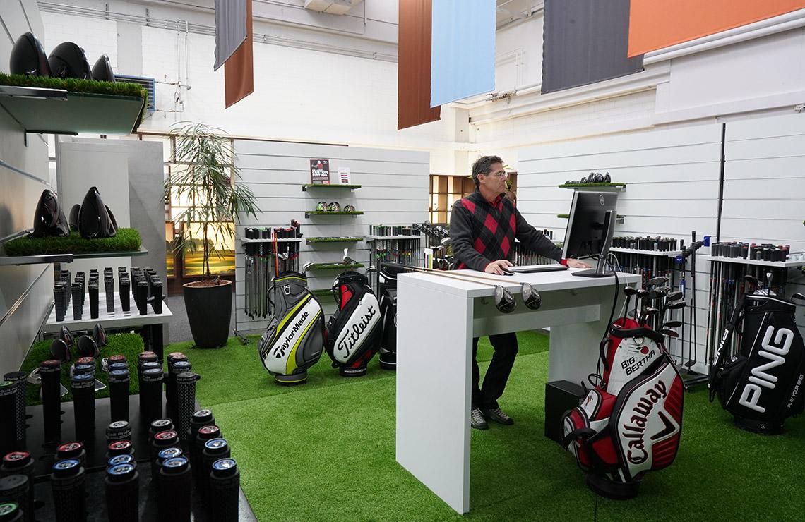 Custom Fitting The Golfer's Malans